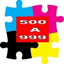 500 A 999 PIEZAS
