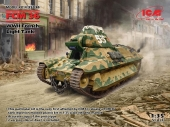 FCM 36 WWII FRENCH LIGT TANK 1/35 35336 ICM