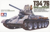 T34/76 1942 PRODUCTION MODEL 1/35 35049 TAMIYA
