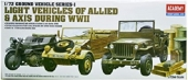 GROUND VEHICLE SERIES 1 WWII 1/72