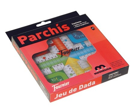JUEGO MAGNETICO PARCHIS FOURNIER