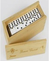 DOMINO PROFESIONAL CHAMELO CAJA MADERA A351M