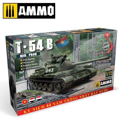 T-54B MID. PROD. 1/72 8502