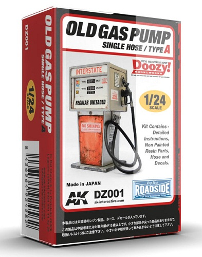 OLD GAS PUMP SIGLE HOSE/TYPE A 1/24