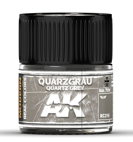 QUARZGRAU-QUARTZ GREY RAL 7039 10ML.