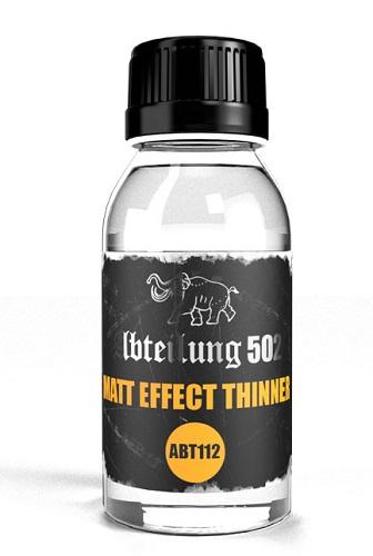 MATT EFFECT THINNER 100ML. ABT112