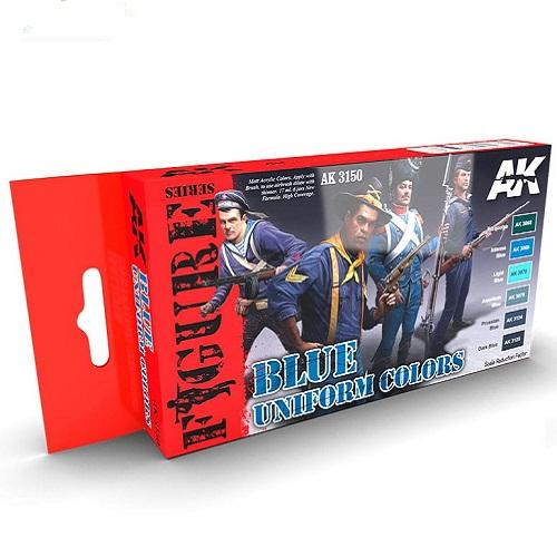 BLUE UNIFORM COLORS SET AK3150