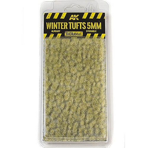 WINTER TUFTS 5MM. AK8121