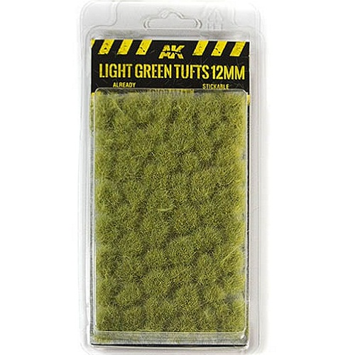 LIGHT GREEN TUFTS 12MM. AK8127