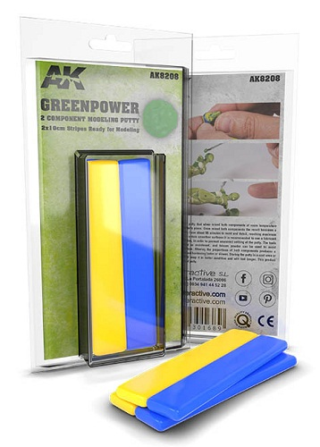 GREENPOWER 2 COMPONENT MODELING PUTTY
