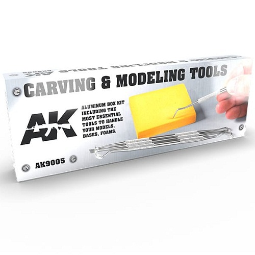 CARVING TOOLS DELUXE BOX (4) AK9005