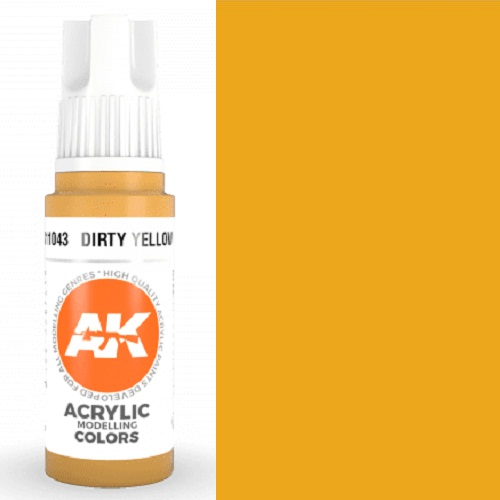 DIRTY YELLOW 17ML. AK11043