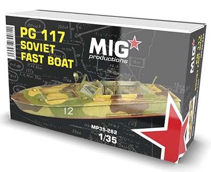 PG 117 SOVIET FAST BOAT 1/35