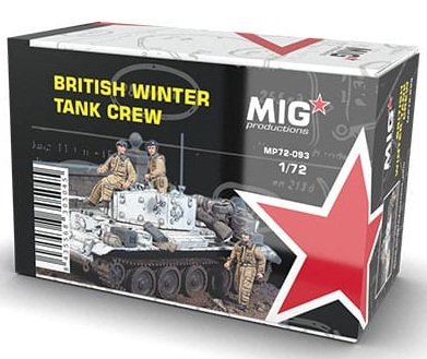BRITISH WINTER TANK CREW 1/72 (3)