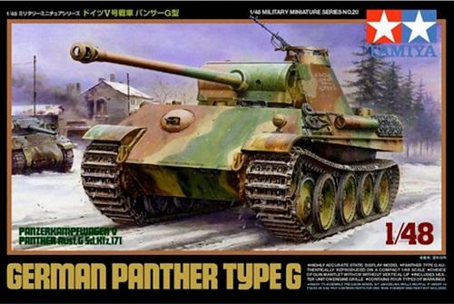 GERMAN PANTHER G 1/48 32520 TAMIYA