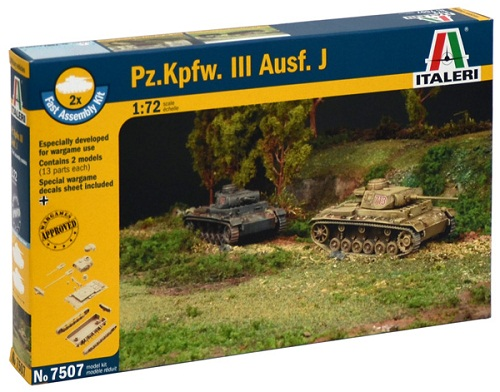 PZ. KPFW. III AUSF. J (2) 1/72 7507