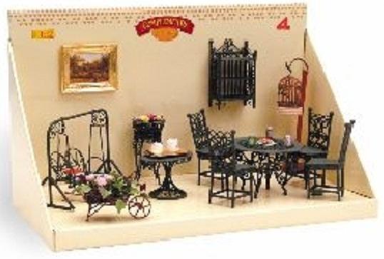 ambiente jardin completo ud muebles casa munecas baratos