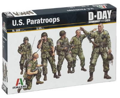 US PARATROOPS 1/35 (6) 309