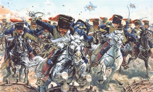 BRITISH HUSSARS CRIMEAN WAR 1854 1/72 (24)