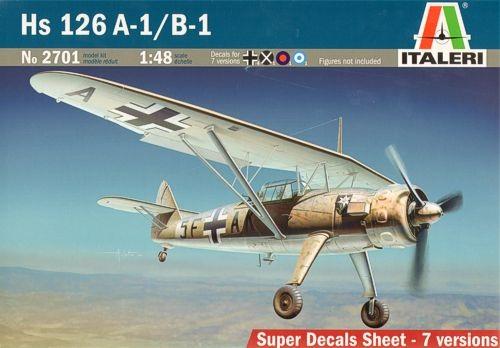 HS 126 A-1/B-1 1/48 (CALCAS ESPAÑOLAS)