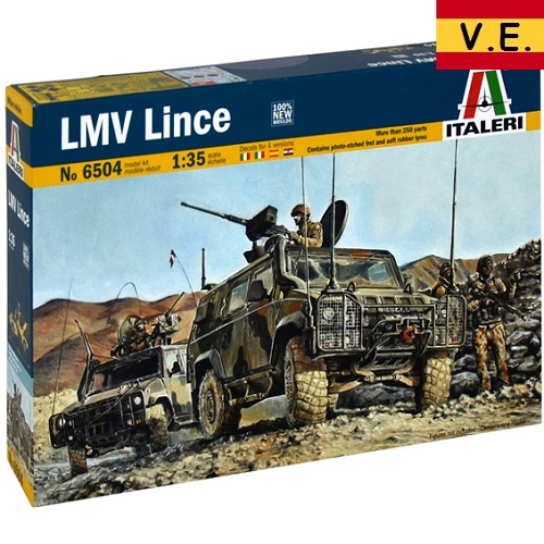 LMV LINCE 1/35 CALCAS ESPAÑOLAS