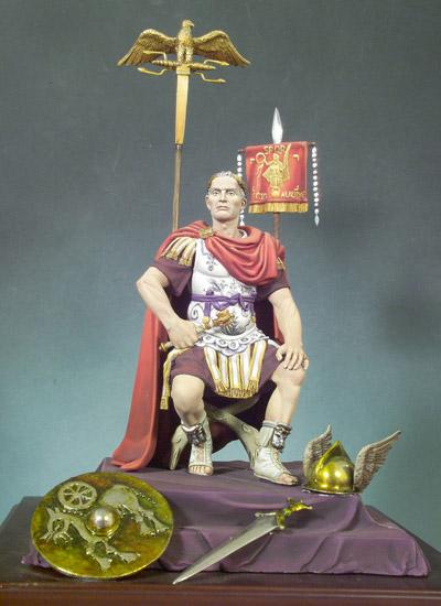 JULIO CESAR EN LAS GUERRAS GALAS (52 A.C.)