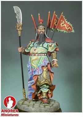 GUERRERO CHINO KUAN YU 300 A.D. 90MM.