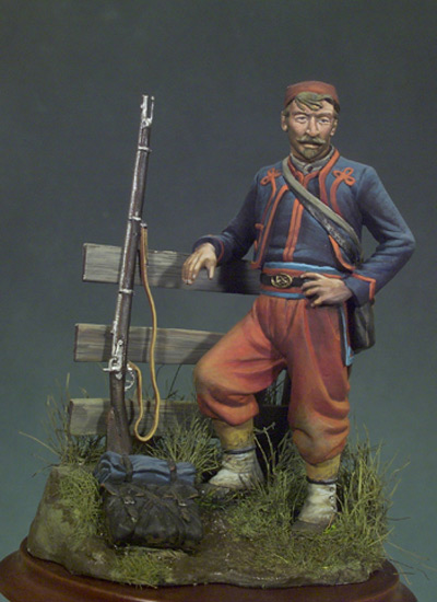 ZOUAVE, 1863 5TH NEW YORK VOLUNTEER INFANTRY