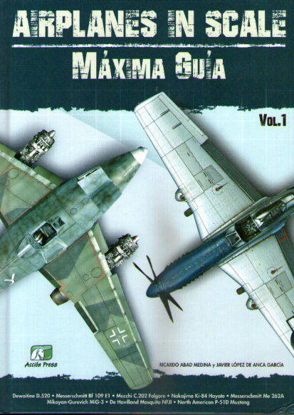 AIRPLANE IN SCALE MAXIMA GUIA