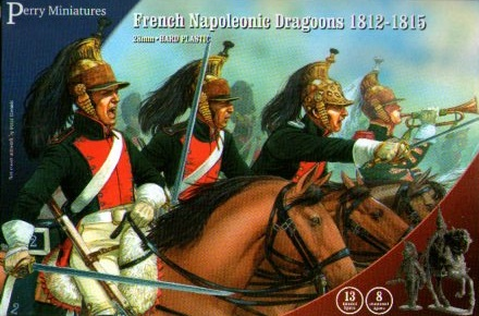 DRAGONEROS FRANCESES 1812-15 28MM. (13+8)