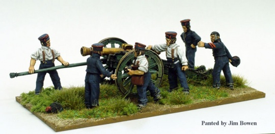 LINE ARTILLERY IN FATIGUES LOADING 12 PDR