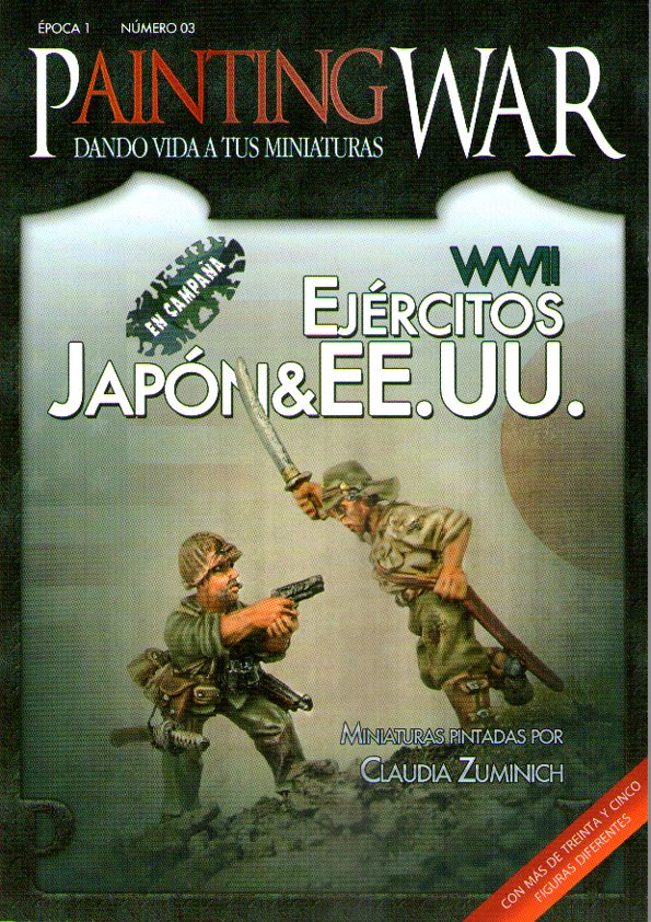 PAINTING WAR 03. EJERCITOS JAPON & EE.UU. WWII
