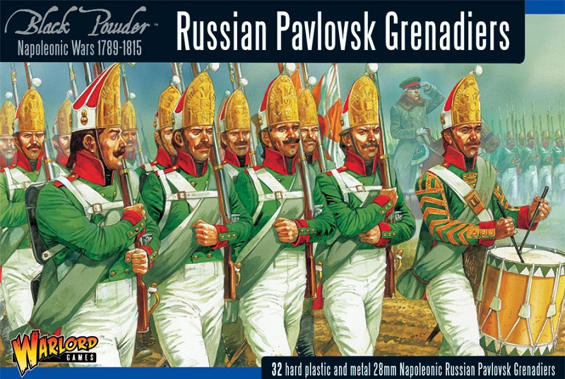 NAPOLEONIC RUSSIAN PAVIOSK GRENADIERS (32)