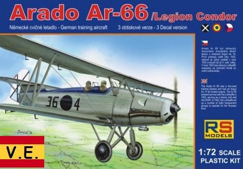 ARADO AR-66 LEGION CONDOR 1/72 92060