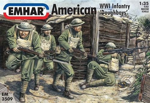 AMERICAN WWI INFANTRY DOUGHBOYS 1/35 (12)