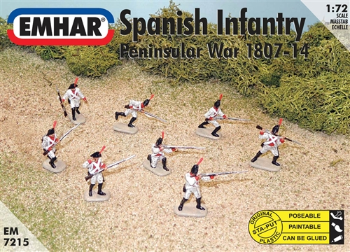 SPANISH INFANTRY PENINSULAR WAR 1807-14 1/72 (46+1
