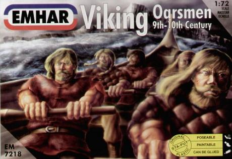 VIKING OARSMEN 9TH-10TH CENTURY 1/72 (32)