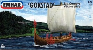 VIKING SHIP GOKSTAD 1/72