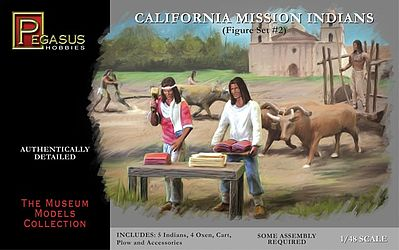CALIFORNIA MISSION INDIANS SET 2 1/48 (5+4)