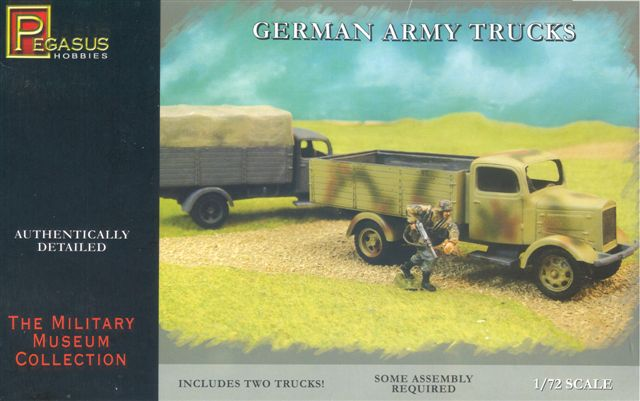 GERMAN ARMY TRUCKS 1/72 (2)