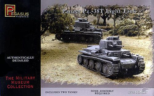 PANZER PZ-38T LIGHT TANK 1/72 (2)