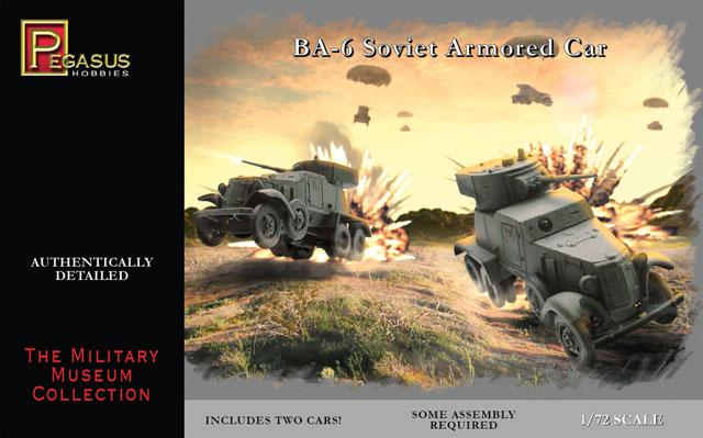 BA-6 SOVIET ARMORED CAR 1/72 (2)