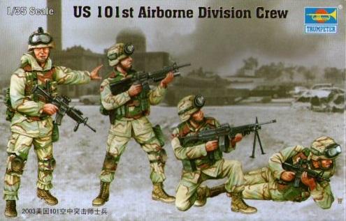 US. 101ST AIRBONE DIVISION CREW 1/35 (4)