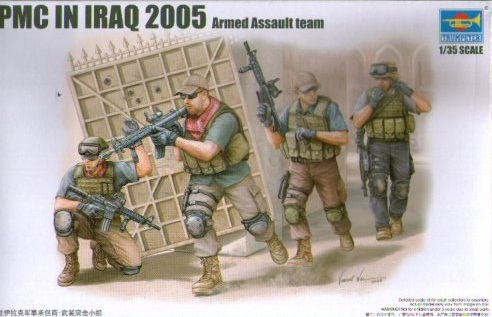 PMC IN IRAQ 2005 ARMED ASSAULT TEAM 1/35 (4)