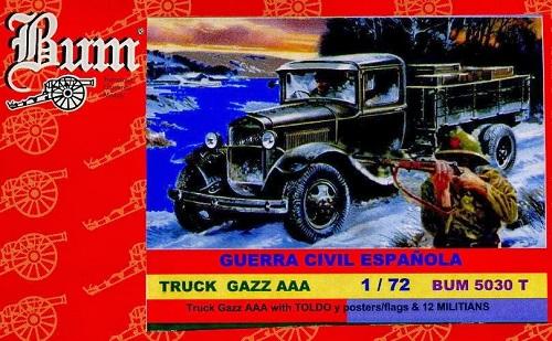 TRUCK GAZZ AAA 1/72