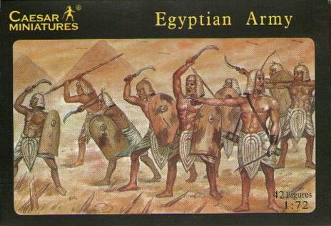 EGYPTIAN ARMY 1/72