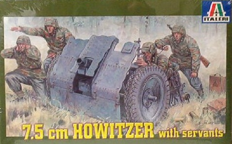 7.5 CM HOWITZER WITH SERVANTS 1/35