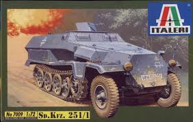 SD. KFZ. 251/1 AUSF. C 1/72