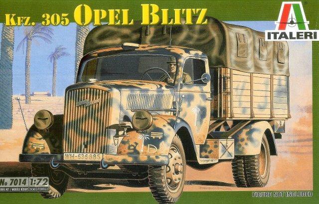 KFZ. 305 OPEL BLITZ 1/72