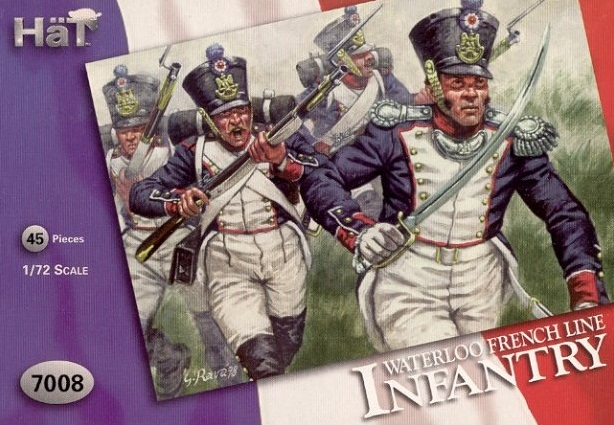 WATERLOO FRENCH LINE INFANTRY 1/72